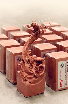 Simon Lee's '20 Blocks of Clay' series, day 1: 'Monkey King' (October 6 2014)