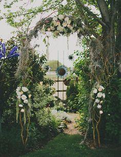 Bohemian Backyard Wedding in Idaho: Natalie + Will | Green Wedding Shoes Wedding Blog | Wedding Trends for Stylish + Creative Brides
