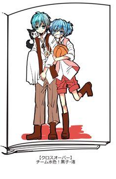 Assassanition classroom x Kuroko no basket