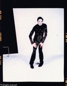 "Arno Bani, Michael Jackson ""Le Mime"", photoshoot 1999"