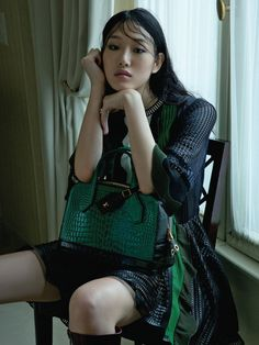 Sora Cho In Paris'70s By Hyea Won Kang For Vogue Korea March2015 - 3 Sensual Fashion Editorials | Art Exhibits - Women's Fashion & Lifestyle News From Anne of Carversville