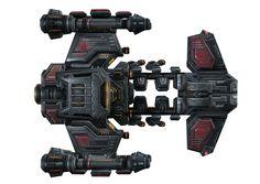 Starcraft Terran Battlecruiser by voidwar