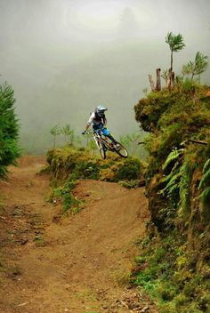 Mountain Biking thanks to @carolinefanfan #biking #mtb
