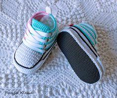 Детская обувь ручной работы. Кеды