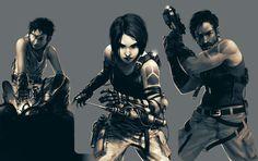 cyberpunk character concept art - Google Search