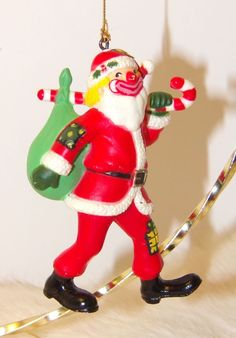 Vintage Clown Hobo Dressed As Santa Claus Collectible Christmas Ornament    eBay
