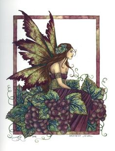 Amy Brown Fairy Wallpaper | Harvest Jewel by Amy Brown