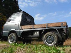 Photo Mini Trucks, Pickup Trucks, Toyota Dyna, Suzuki Carry, Kei Car, Utility Truck, Coffee Truck, Car Wheels, Hot Cars