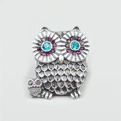 Big Little Owl Ring