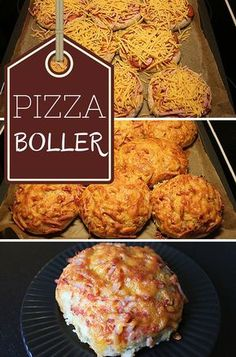 Pizzaboller Super good pizza balls that are easy to make and taste fabulous. Kreative Snacks, Kids Meals, Easy Meals, Good Food, Yummy Food, Danish Food, Good Pizza, Food Inspiration, Healthy Snacks