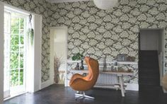 There's been a surge in sales of bold printed wallpaper.yay! #wallpaper