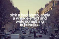 Beautiful photo trick?