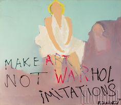 Make ART not WARhol Imitations