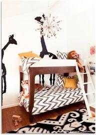 kids room // zigzag // girafe