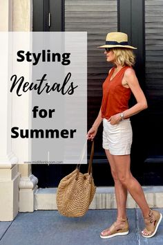 Classy Summer Outfits, Summer Shorts Outfits, Shorts Outfits Women, Cruise Outfits, Summer Dresses For Women, Spring Outfits, Dress Summer, Summer Fashions, Vacation Outfits