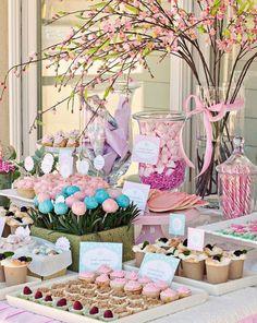 Lolly buffet...pretty!!