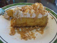 Olive Garden's Pumpkin Cheesecake!  The best!  Yum!