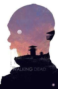 The Walking Dead S3 - Alternative Graphic Poster Art by Duke Dastardly