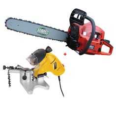 "BMC 20"" Chainsaw with Powerplus Chain Sharpener - Save money by maintaining your own chain #UKHS"