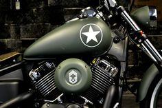 V star 650 Army Edition