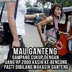 Mau dibilang ganteng gampang - #Meme - http://www.indomeme.com/meme/mau-dibilang-ganteng-gampang/