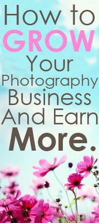 Growing your photography business doesn't have to mean booking more shoots and burning yourself out. Learn a better way. #photographybusinesspricing