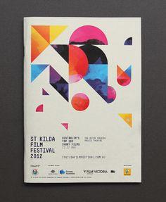St Kilda Film Festival 2012 - Studio Brave #Experiment Shapes, Couleurs diverses, diagonale