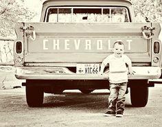 vintage truck love!