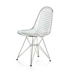 Sedia Eames Wire Chair – Dkr di Charles and Ray Eames per Vitra