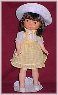 I loved My Jenny doll!  I loved that she had dark hair and eyes like me.  But that dang hat never stayed on.