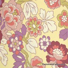 Fabric... Gypsy Caravan Cutting Garden in Linen by Amy Butler
