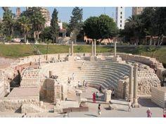 Roman Amphitheatre - Alexandria, Egypt