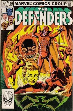 Defenders # 116 by Don Perlin & Steve Mitchell