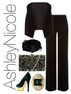"""""""Untitled #248"""" by afloyd on Polyvore featuring Dries Van Noten, Armani Collezioni, Dion Lee, Ted Baker and Charlotte Olympia"""