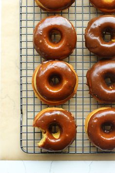 What's better than #donuts? Baked pumpkin donuts.