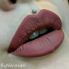 ✖CLOSE-UP✖  Mars Liquid Lipstick by Coloured Raine