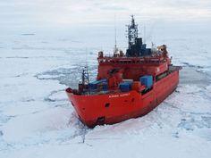 The Aurora Australis icebreaker. File photo: Australia's Antarctic Division/Wendy Pyper