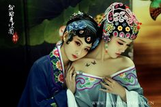 "Beautiful Chinese style photo ""Green Vanda"""