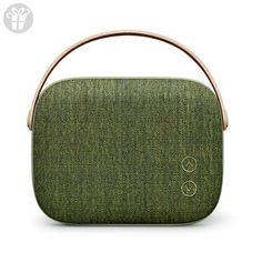 Vifa Helsinki Hi-Resolution Bluetooth 4.0 Wireless Portable Speaker - Willow Green (*Amazon Partner-Link)