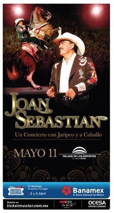 Joan Sebastian, 11 de mayo, Palacio de los Deportes