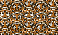 Tiger Tessellation by Henk Wyniger