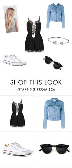 """Untitled #42"" by ana-santos-2001 ❤ liked on Polyvore featuring Ally Fashion, Acne Studios, Converse and Bling Jewelry"