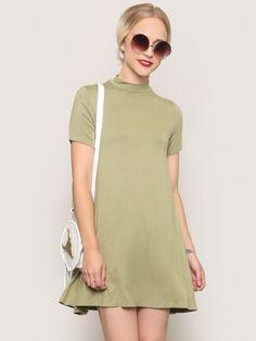 Modern Love Mini Dress - Olive - Gypsy Warrior