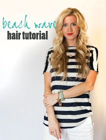 Elle Apparel: beach waves:: hair tutorial