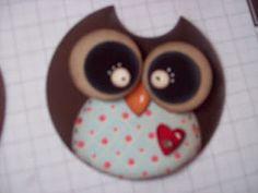 Creative Owl Punch ARt done by Tanja of Kreativ Am Deich  cute!!