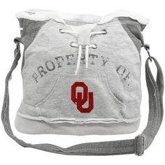 Oklahoma Sooners Ladies Ash Hoodie Duffel Bag Craft Bags 57b5d3cbb77f0