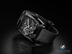 TAG Heuer Monaco Tourbillon on Industrial Design Served Tag Heuer Monaco, Expensive Watches, Most Expensive, Red Lightning, High Class, Luxury Watches, Cool Watches, Industrial Design, Apple Watch