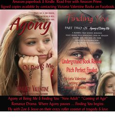 VictoriaValentineWriter: Finding You Underground Book Review Pitch Perfect ... Please visit my book page on Underground Book Reviews to cast a vote for Finding You! Thank you for your support. :-) xo to vote: https://www.undergroundbookreviews.org/book/finding-you-conclusion-of-agony-of-being-me/