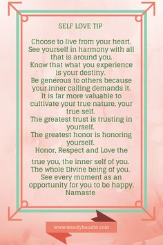 Self-Love Tips on Pinterest