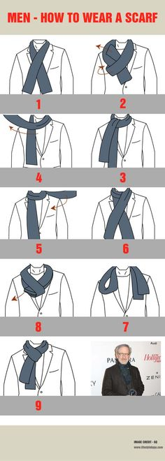How to Wear a Scarf - Image